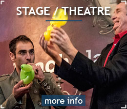 colin underwood corporate magician stage theatre magic